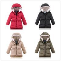 winter long hooded -30 degress Warm children girls coat outerwear baby snowsuit brand casual down jacket clothing roupas meninas
