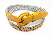 2014 new fashion  braided women's belts,candy color lady's strap,all match female belt,factory outlet buy 2 get 1