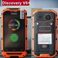 Original Discovery V6 IP68 4.0 inch OS4.2 MT6572 Dual Core 1.3GHz 512MB 4GB 5.0MP+5.0MP Dual SIM WIFI 2800mha
