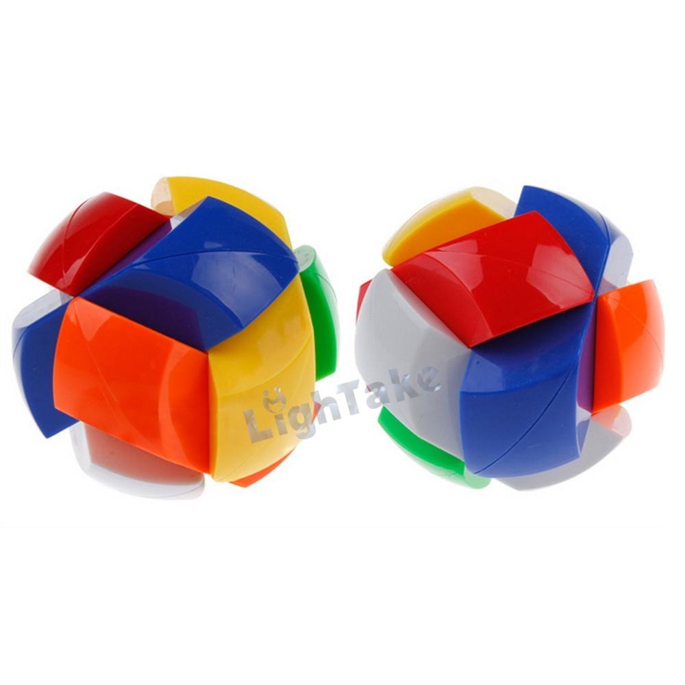 Dian Sheng Chinese Traditional Intelligence Toy Safe ABS Plastic Kong Ming Lock - Ji Si Guang Yi(China (Mainland))