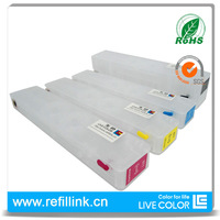 LIVE COLOR 1 set ink cartridge for hp 970 empty refillable cartridge for HP printer officejet pro X451dn X551dw X476dn X576dw