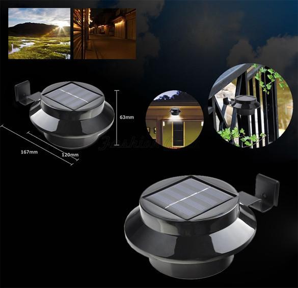 super bright rechargeable battery solar garden light outdoor home. Black Bedroom Furniture Sets. Home Design Ideas