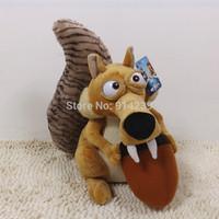 Free shipping New Scrat Plush Stuffed Plush Toy 35cm Wholesale and Retail