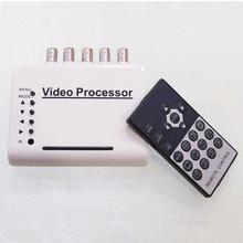 - ch canali dvr cctv quad video camera kit sistema processore splitter switcher colore(China (Mainland))