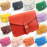 16 colors women messenger bags vintage bags handbags women famous brand candy bag shoulder bag pu leather women handbag