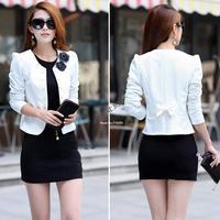 M/L/XL/XXL/XXXL Autumn 2014 Female Coats Womens Short Jackets For Lady's Blazer Cardigan Woman Coat Free Shipping SV07 SV006099