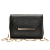 2014 Classic Black Envelope Bag Fashion Women's Chain Messenger Bags Brand Design Crossbody Bolsas Evening Bags WJ1030