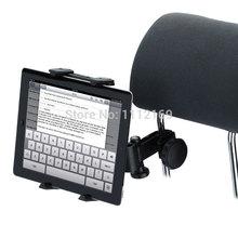 Универсальный регулируемый автомобилей места сзади подголовник планшет держатель для 6 дюймов до 12 дюймов планшет GPS dvd-плеер галактика iPad мини