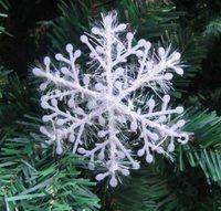 60Pcs/Lot 6CM Christmas Snowflake Hanging Decorations For Windows Decor  Decoration Enfeites De Natal  Christmas Ornament