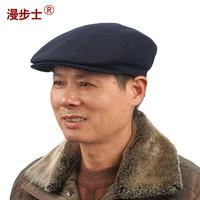 Walk  wool hat   men's winter cap male old  men casual warm winter hat