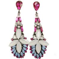 Bohemia Fashion Jewelry Bowknot Earrings Waterdrop Earrings Gcolorful Hollow Out Bohemia Earrings