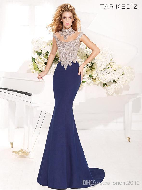 Вечернее платье Hongyan Royal Blue 14-WL02