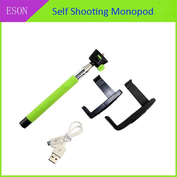 360 Rotating Folding Handheld Wireless Bluetooth Monopod Self Shooting Digital Camera Bracket For Mobile Phone CA000069(China (Mainland))