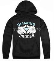 Crooks and Castles Hoodies free shipping hip hop sweatshirts winter suit cotton 2014 hoodie sweats mens sweatshirt