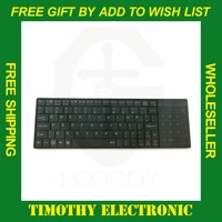 HOT SALE 1PC FREE SHIPPING New Fashion Ultra Mini Bluetooth Wireless Keyboard with Touchpad for Smart Phone #JS038