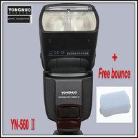 Yongnuo YN-560 II for Nikon Canon Olympus YN 560II Flash Speedlight Speedlite D3100 D5100 1D 6D 60D 7D 5D II 5D III 50D