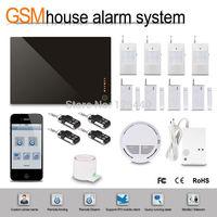 2014 Newest iOS Control Patrol Hawk Alarm G1EW With Power Failure Alarm & Emergency Alarm Via GSM/3G Network