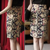 New Plus Size Fashion 2014 OL Style Knee-length Slim Sexy Lace Pencil Skirt For Women Ladies High Waist Skirts SV07 SV007273