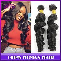 5A Ms Lula Malaysian Virgin Hair Loose Wave 3pcs 4pcs lot Mocha Rosa Hair Company Wet and Wavy Human Hair Malaysian Deep Wave
