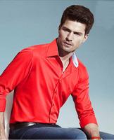 2014 polo camisa masculina shirt camisa DUDALINA roupas casual men male imported clothing xadrez blusa masculina  2006