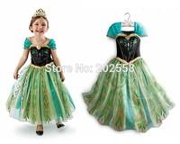 2014 Custom-made Movie Cosplay dress summer girls dress Costume Princess Dress  for Children