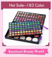 2014 New 183 Color Combo Makeup Eye Beauty Palette Set 168 Eyeshadow 15 Colours Blush,Hot Selling Makeup Artists' Favorite