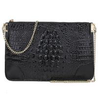 Envelope Clutch Promotion 2014 New Arrival Genuine Leather Crocodile Women Handbag Shoulder Bag Messenger Bag Day Clutch Handbag