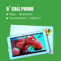 9inch 2G Call phone the tablet ,The stability of the wireless Internet access,Support 60 languages,Front and rear cameras