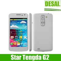 Star Tengda G2 Smartphone MTK6572W Dual core smart phone Android 4.2 4.5 Inch IPS Screen 3G 512MB +4Gb 5.0 Mp camera