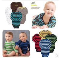 New Spring Autumn Long Sleeve Carters Original Baby Boy Girl Bodysuits Newborn Bodysuit Brand 100% Cotton Baby Clothing Overall