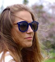 3 colors high quality wooden bamboo glasses custom wayfarer sunglasses wooden eyewear
