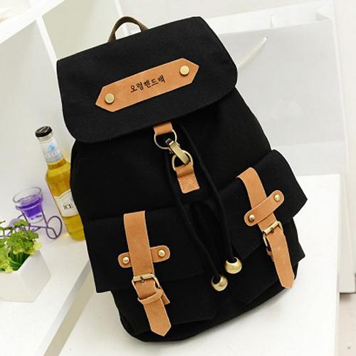 Cheap Products Cute Lady Girls Versatile Vintage Canvas Satchel Backpack Shoulder School Bag(China (Mainland))
