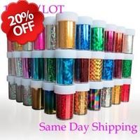 10pcs/lot Designs 120cm*4cm Plastic Nail Art Supplies Transfer Foil Nail Tip Stickers Decorations Shining Golden Fast Shipping