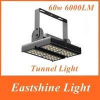 1PC LED Tunnel Light 60W 6000LM 85-265V IP65 48PCS Cree LED Outdoor Industrial Tunnel Lamp 6000K White