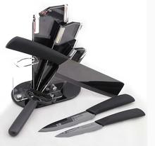 Kingart керамических ножей циркония кухня knifeCeramic черное зеркало нож комплект с ножом держатель 5 шт. / комплект
