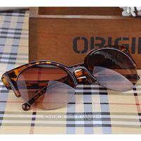 Fashion Vintage Sunglasses Retro Cat Eye Semi-Rim Round Sunglasses for Men Women Sun Glasses Eyewear Eyeglasses Y52*MPJ093#M5