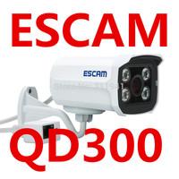 ESCAM QD300 IP Camera HD720P P2P Cloud IP Camera IR Waterproof H.264 ESCAM Peashooter support 3.6MM Lens Motion Detection IR Cut