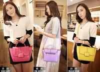 New arrival fashion shell shaping Women's handbag , brand design patent leather fashion shell bag vintage women's evening tote