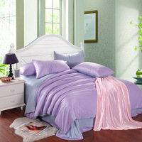 UPS free 80 thread count solid pure color Tencel Lyocell king bedding sets;luxury bedsheet/bedspread home textile+2 pillowcases