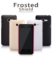 New Original Nillkin Case for Asus Zenfone 4 (4 inch) Cover Case Super Frosted Shield Shell + Screen Protector Film