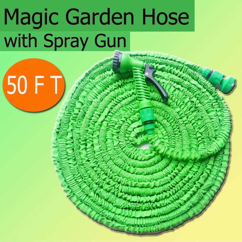 Садовый шланг Green50FT 15 50FT + садовый шланг oem 15m 50ft 7 1