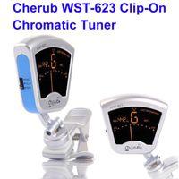 New WST-623 Cherub Digital 3-Temperament Chromatic Clip-On Universal Guitar Tuner Music Instrument Accessories Free Shipping