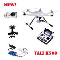 Walkera TALI H500 Best FPV Solution RTF Hexrcopter DEVO F12E Transmitter Model 2 + G-3D Gimbal + IMAX B6 Charger + iLook+ Camera
