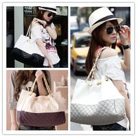 2014 Hot Sale 1Pcs Fashion Women Shoulder Bags Women Leather Handbags Messenger Bags 4 colors Free Shipping ej840115