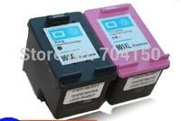 2PK  Black &Tri-Color Inkjet Printer Ink Cartridge for HP 901XL 901 Officejet 4500 4600 J4550 J4580 J4680