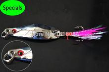 Especiais! Frete grátis 10pieces/lot 5.0cm/14.0g colher/spinner iscas de pesca prata cores metal hard baits 4-31(China (Mainland))