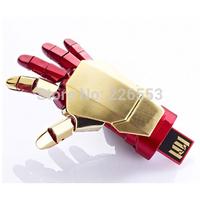 8GB 16GB 32GB Avengers marvel iron man 3 Repulsor Hand USB Flash Drives pen drives memory Free Shipping