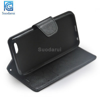 2014 Hot selling Book Wallet TPU + Leather Flip moblie phone cover for iPhone 6