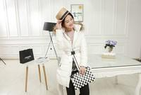2014 winter new female Slim Hooded long thick down jacket women down jacket collar Nagymaros   NDZ104   Y9W