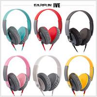 NEW Good Quality DJ Studio Headphone Headband Earphone With MIC For PC/DJ/Sport  6 Colors Freeshipping